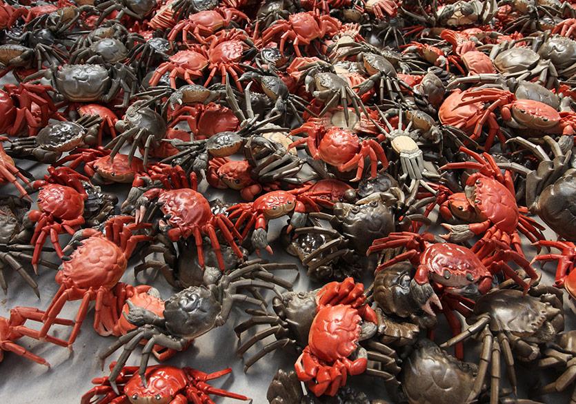Ai Weiwei He Xie, 2012 1200 parça Porselen Ai Weiwei Studio