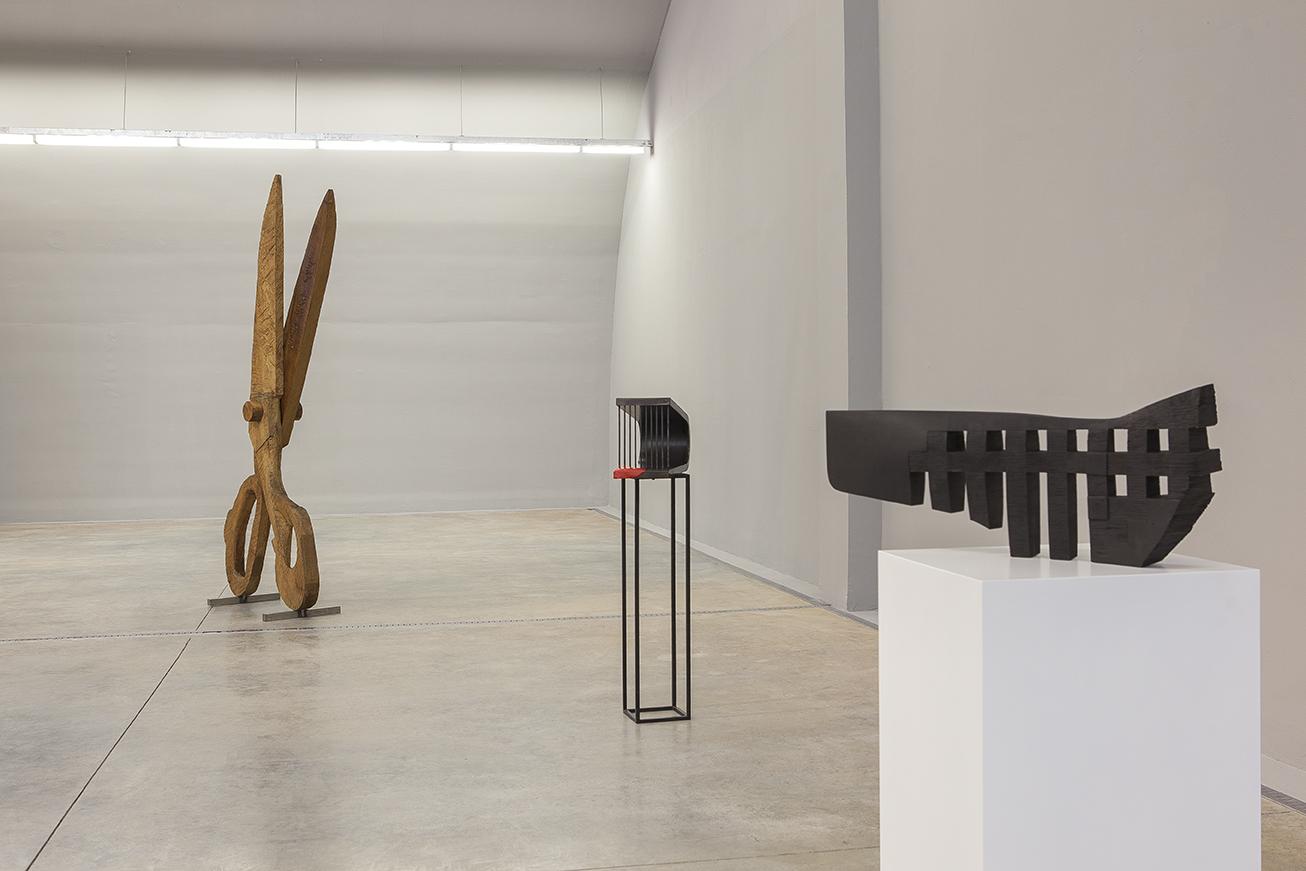 Exhibition Shots of Miro'ya Açılan Heykelli Yol, Baksı Museum, Bayburt