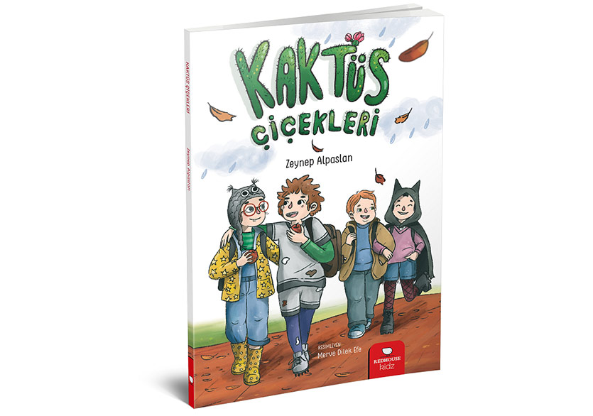 """Bu Kitap Tüm Farklı Çocuklara: """"Kaktüs Çiçekleri"""""""