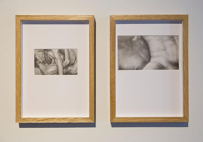 Sezer Arıcı, İsimsiz, 2016, Kağıt üzerine karakalem 32x23cm