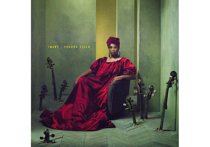 """Imany'den Cover Albümü """"Voodoo Cello"""""""