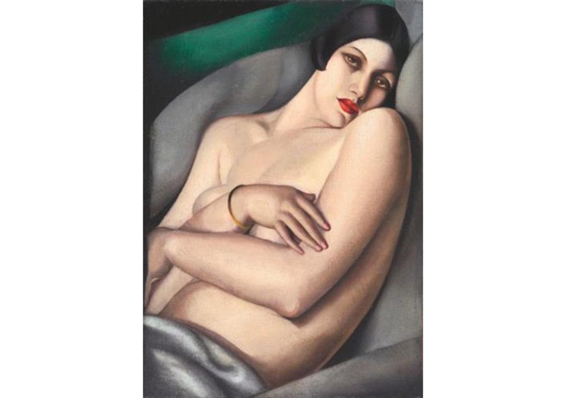 Le rêve (Rafaëla sur fond vert)(1927)