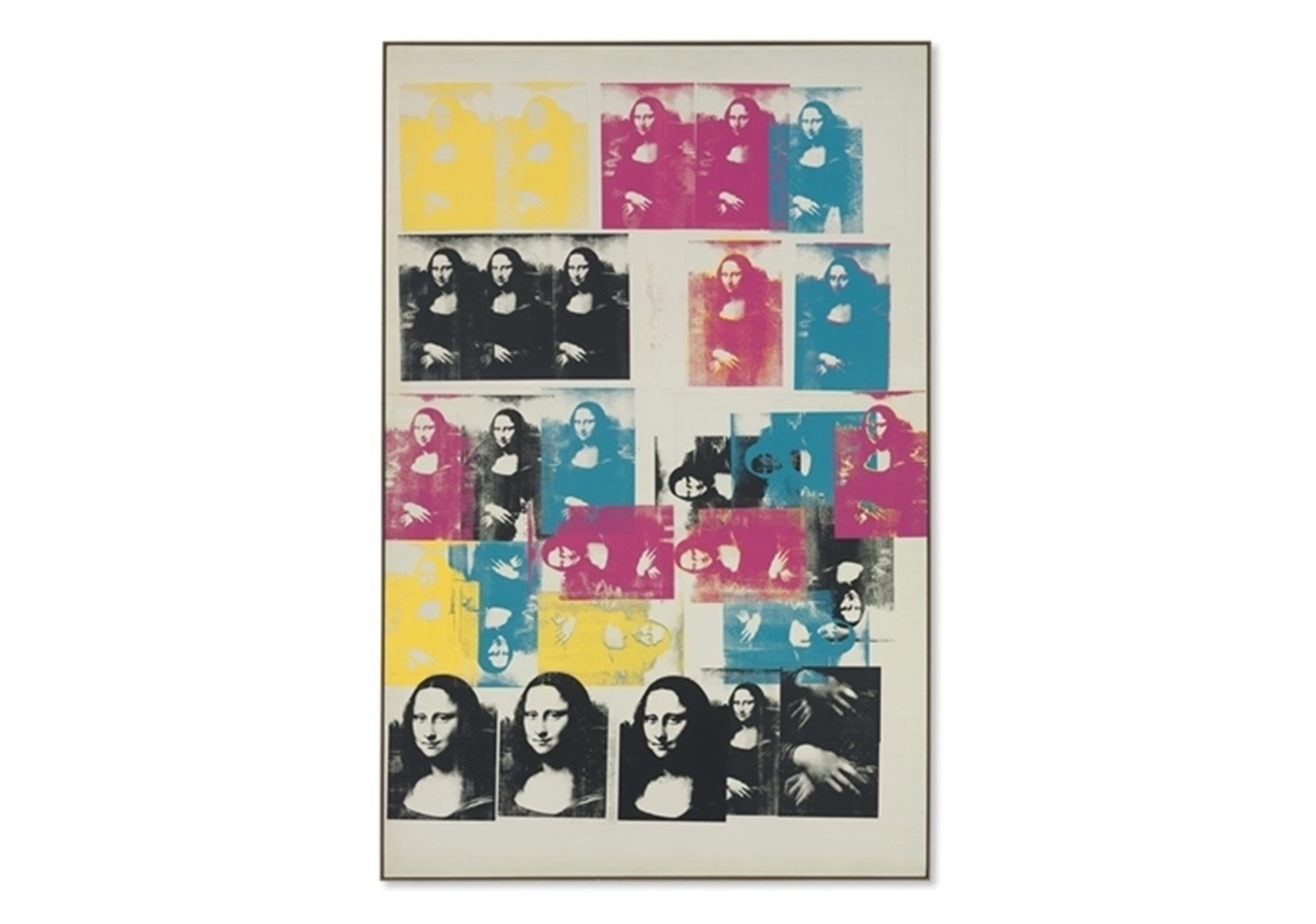 Andy Warhol, Colored Mona Lisa, Christie's
