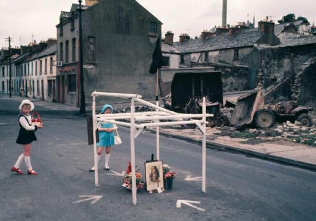 'Northern Ireland (1970s)' by Japan's Akihiko OkamuraCREDIT:ESTATE OF AKIHIKO OKAMURA