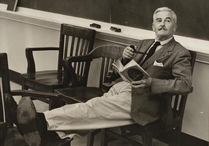 William Faulkner Courtesy of Special Collections Library, UVA Library