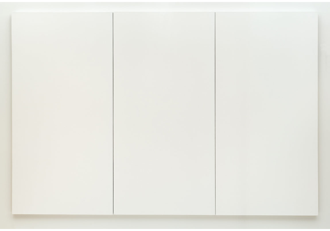 Robert Rauschenberg, Beyaz Resim [üç panel], 1951
