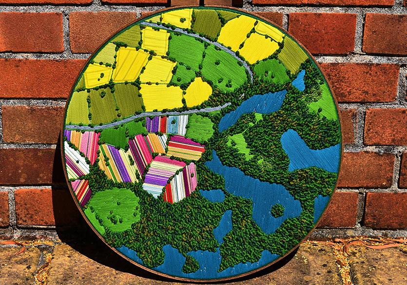 Tarım Arazilerinden Dokulu İşlemelere