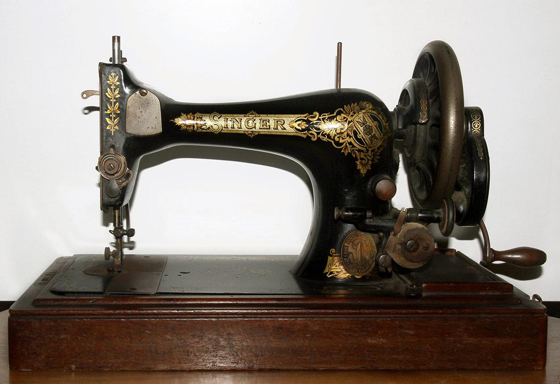 Sermin Yenge'nin Singer dikiş makinesine bir örnek.
