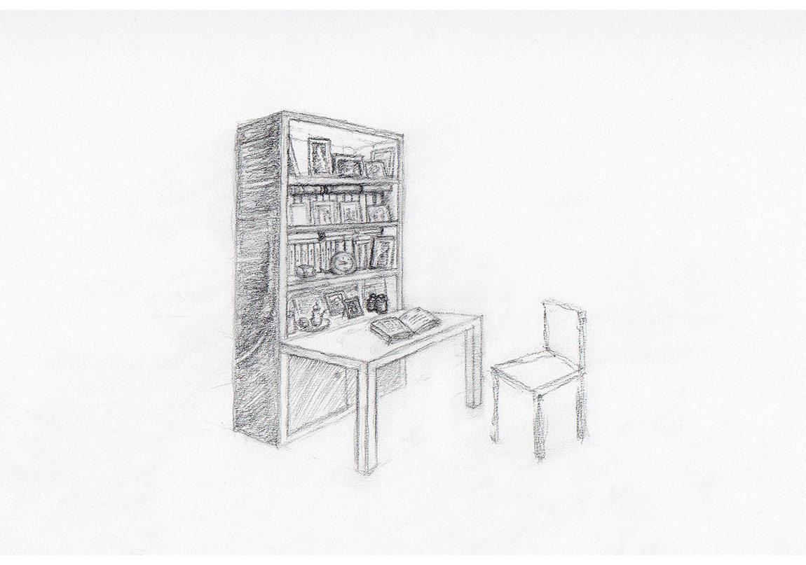 Didem Özbek, To Whom It May Concern,Yerleştirmenin çizimi,2012-...