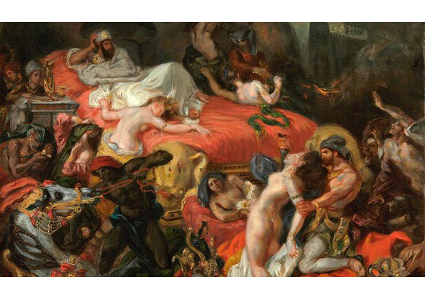 'The convulsion feels almost cosmic': The Death of Sardanapalus, the reduced 1846 version, by Delacroix. Photograph: Philadelphia Museum of Art, Pennsylvania