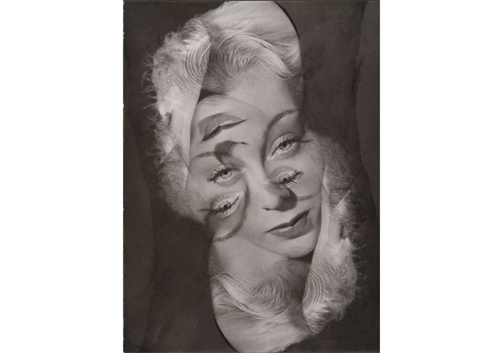 Philippe Halsman, 'Bir kadının deneysel portresi', 1931-1940, Archives Philippe Halsman © 2015 Philippe Halsman Archive/Magnum Photos