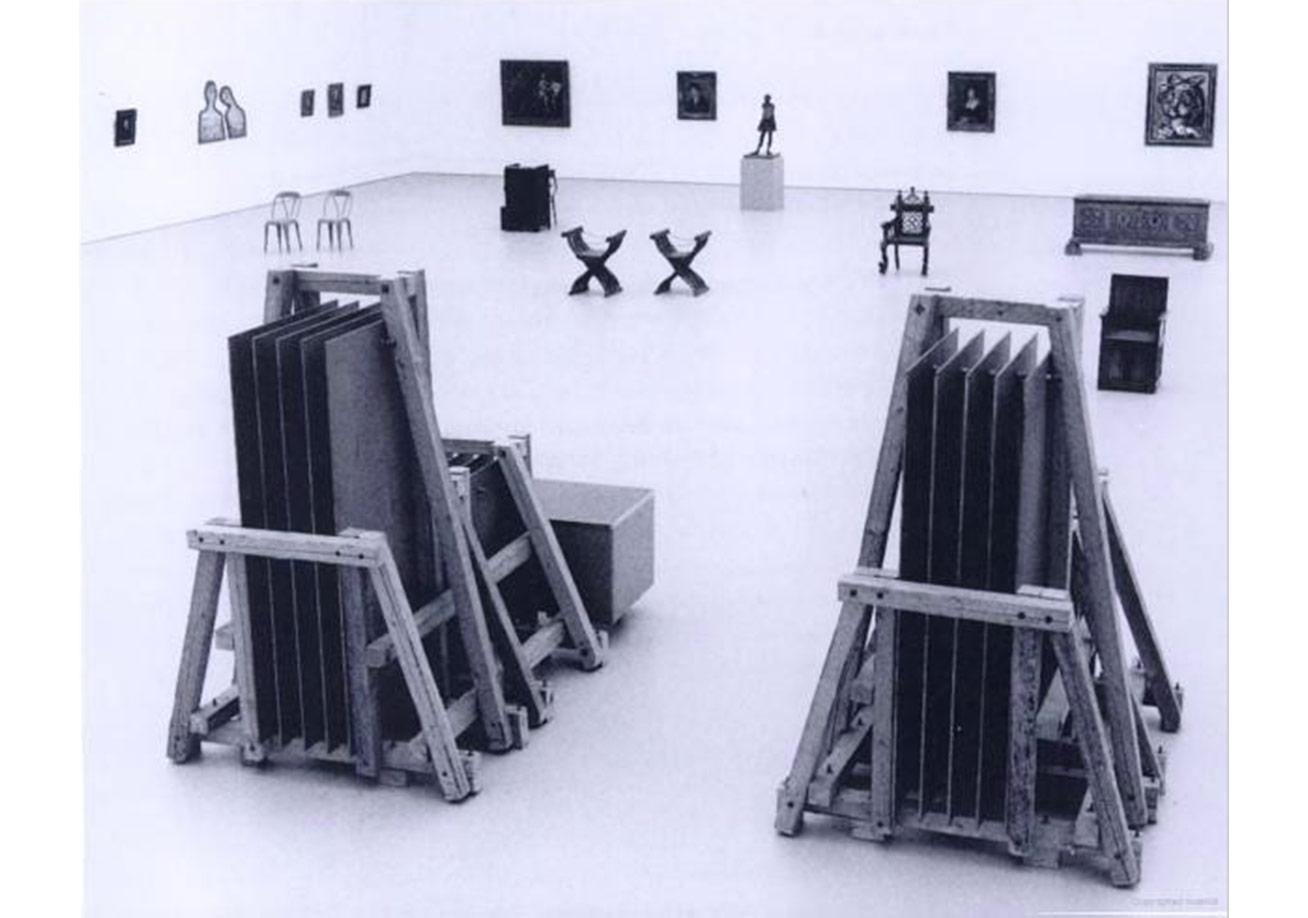 Herald Seezeman'ın Tarihsiz Sesler sergisi, 1988, Museum Boijmans Van Beuningen Rotterdam