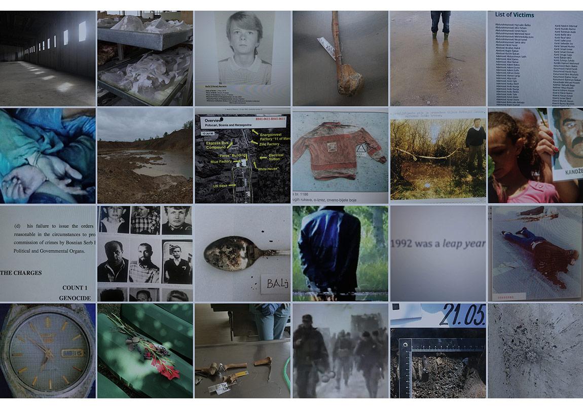 Ab uno disce omnesŠejla KamerićAb uno disce omnes, 2015Multimedya yerleştirmesi ve devam eden web projesiVideo karesi