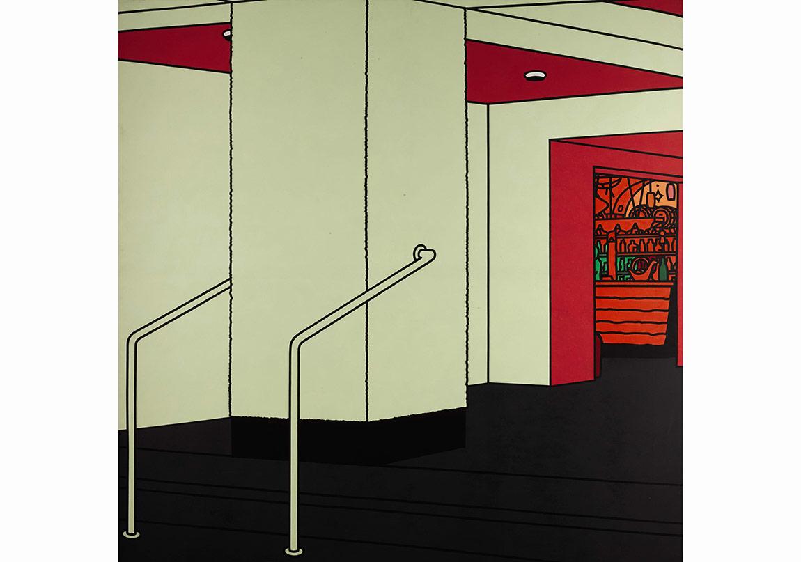 Evening Sale, Lot 43, Caulfield, Foyer (1973)
