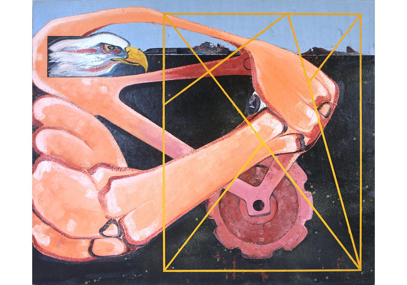 Organik Makine - 167x200 cm - TÜYB - 2014