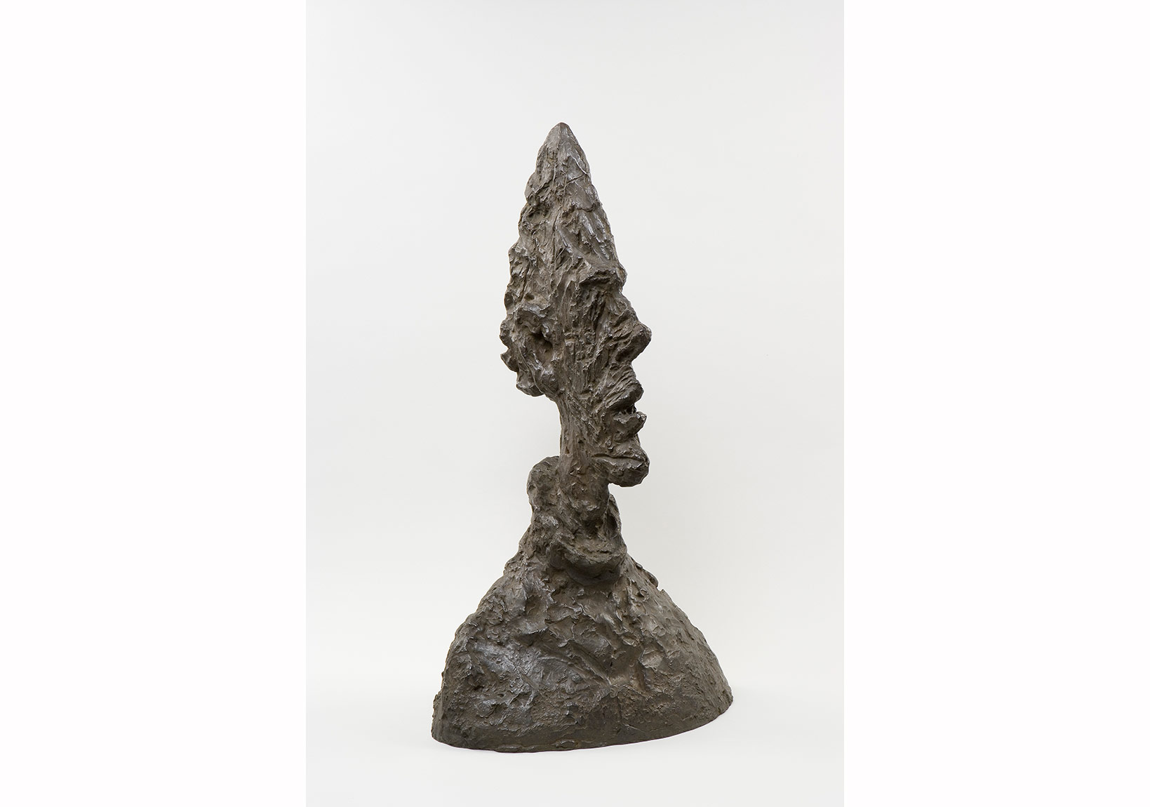 Alberto Giacometti, Uzun İnce Baş, 1954 - Tall Thin Head, 1954 Bronz / Bronze, 64,5 x 38,1 x 24,4 cm Giacometti Vakfı Koleksiyonu, Paris, env. 1994-0175 /Giacometti Foundation Collection, Paris, inv. 1994-0175 © Estate Giacometti (Fondation Giacometti + ADAGP) Paris, 2015