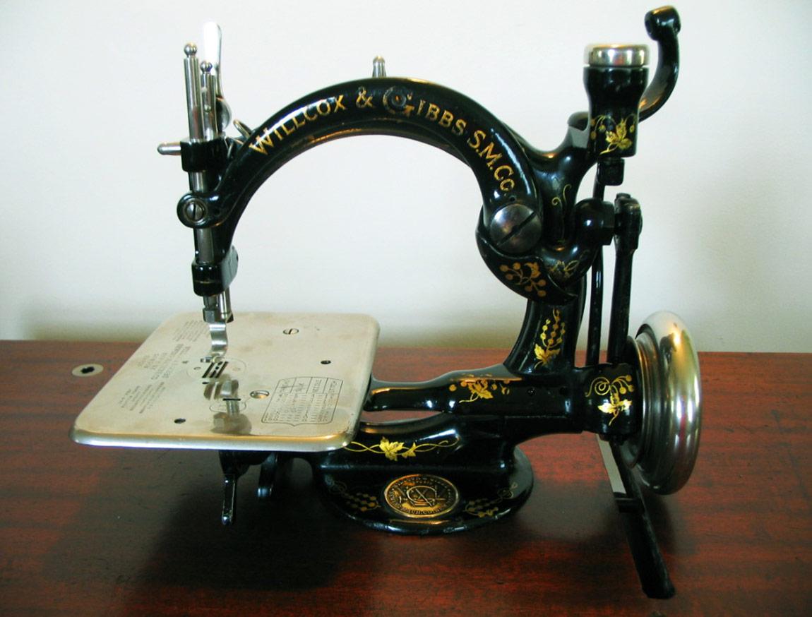 Fikret Dayı'nın övgüler düzdüğü kuğu boyun, Afrika belli dikiş makinesine bir örnek.