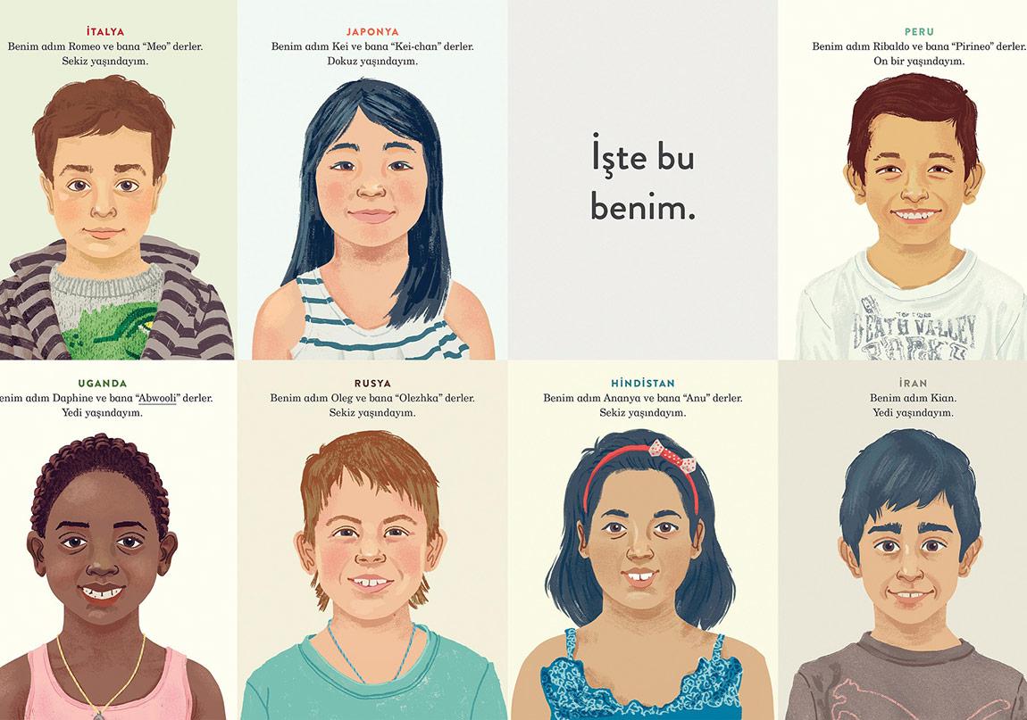 Dünyanın Yedi Farklı Yerinden Yedi Çocuğun Bir Günü