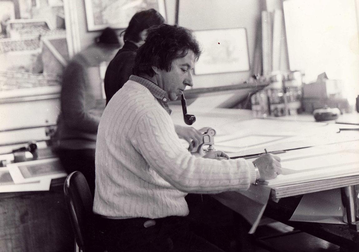 Saraybosna Güzel Sanatlar Akademisi'nde (1980)