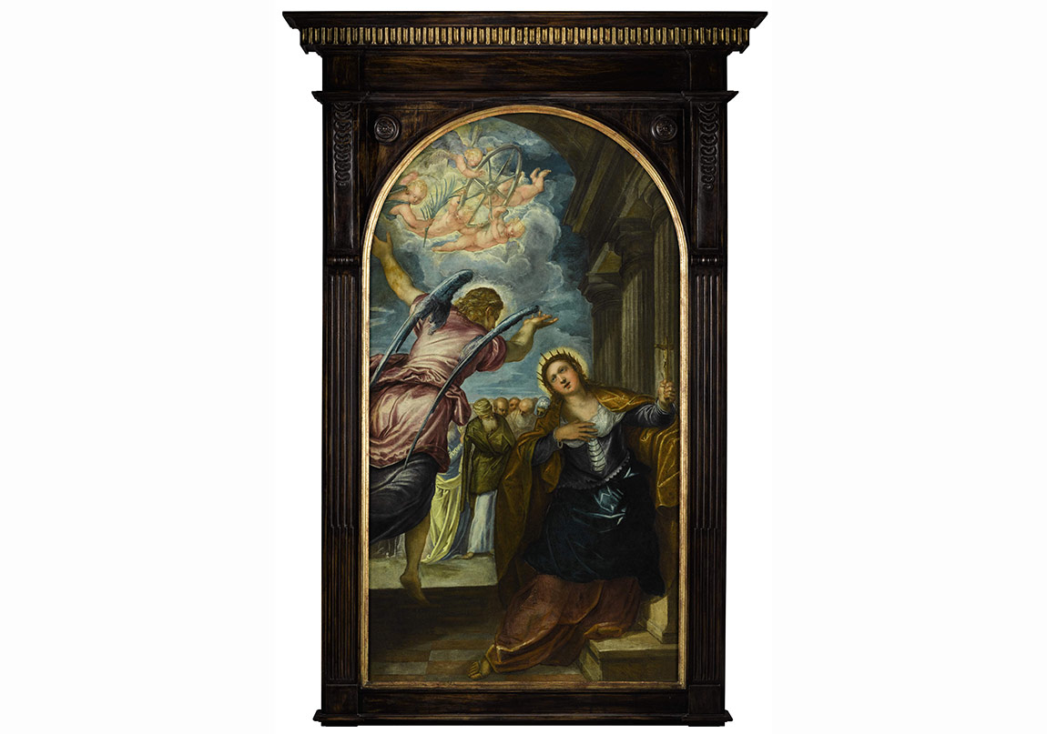 Evening Sale, Lot 38, Robusti, The Angel Foretelling Saint