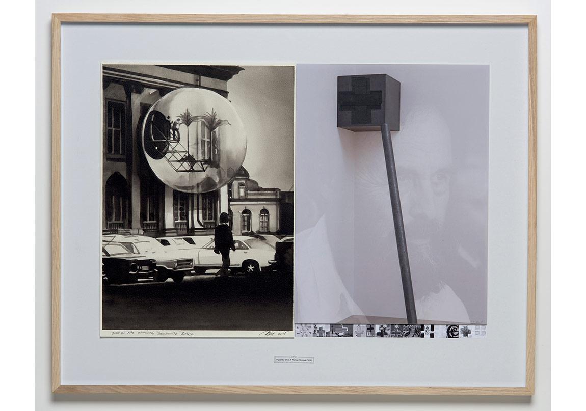 DATES, Radenko Milak & Roman Uranjek 2015, June 30, 1972 Oppening, Documenta Kassel, 50x72 (1)