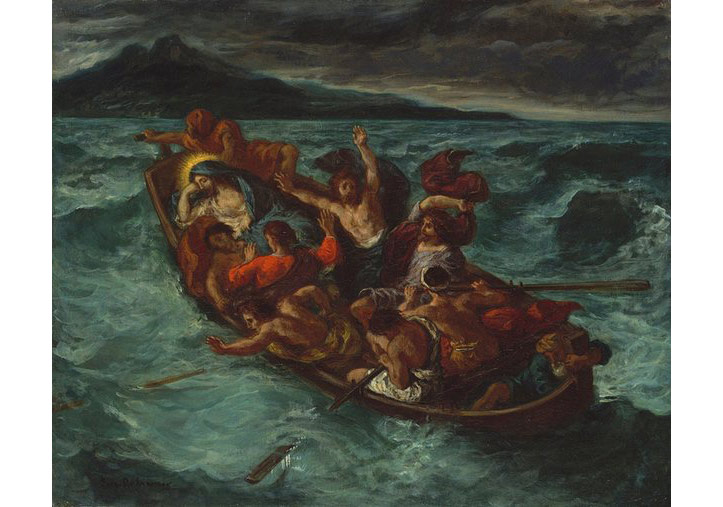 Christ Asleep during the Tempest, 1853 by Delacroix. Photograph: The Metropolitan Museum of Art, New York