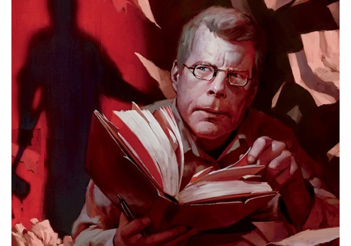 my favorite author stephen king With stephen king's new book 'revival' coming out this month, we asked our readers to vote on their favorite books by the horror master readers' poll: the 10 best stephen king books - rolling.