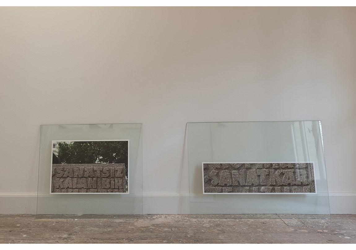 Dilek Winchester, Emin Barın'a Saygı, Sanatsız Sanatkar, 2014, Fotoğraf Ege Kanar