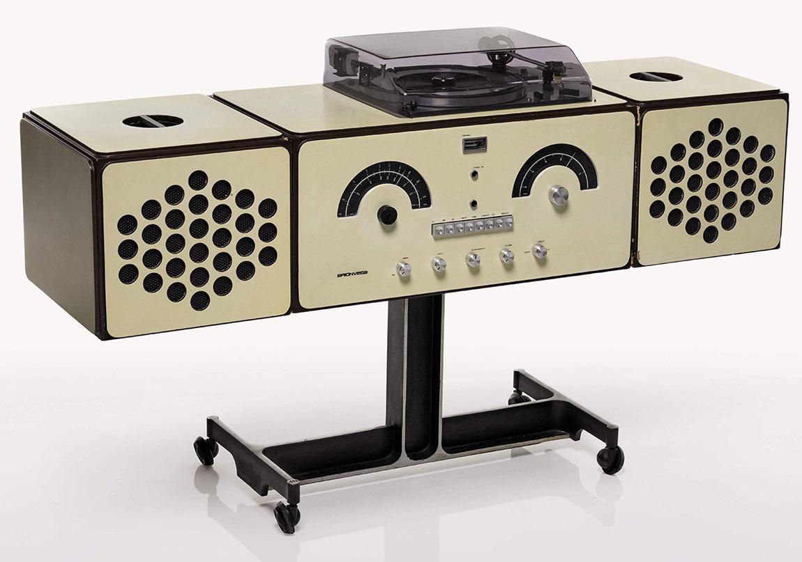 Design Sale, Lot 446, Castiglioni, Radio-phonograph, model no. RR126 (1)