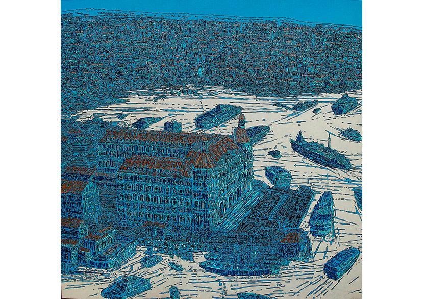 """Devrim Erbil'in """"Çeşitlemeler"""" Sergisi G&G Sanat Merkezi'nde"""