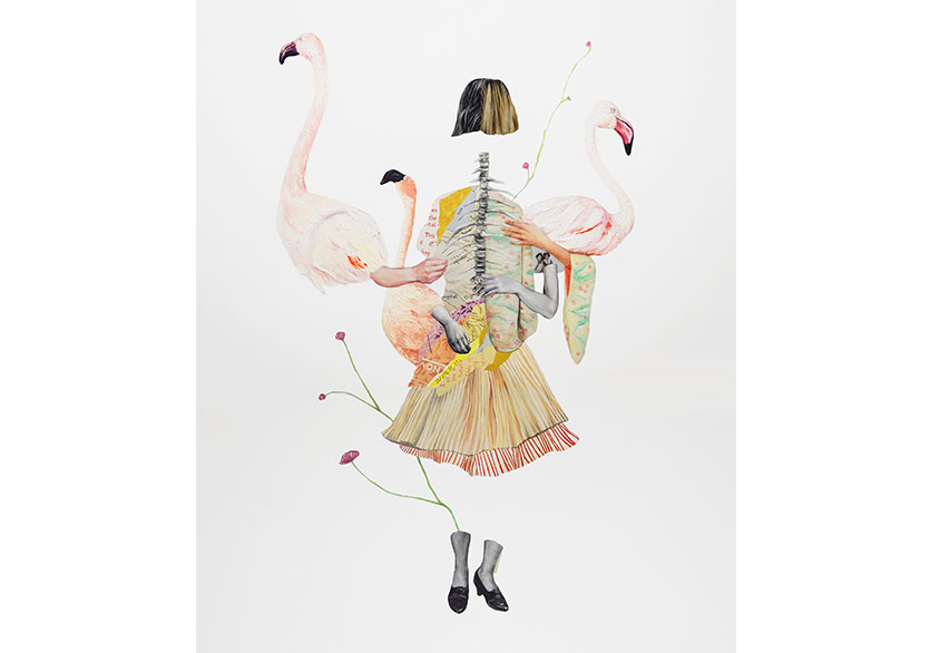 Ekin Su KoçPassing By The Lands, 2018Oil on canvas120 × 100 cm