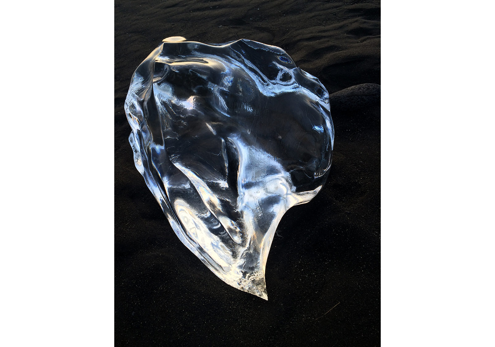 'Blue Moyo', 2016, Diasec mounted on chromogenic print, 120x90cm