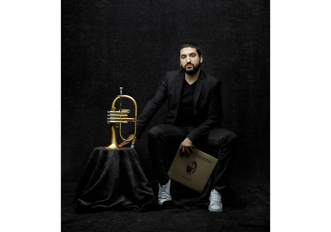 Ibrahim Maalouf Red & Black © Denis Rouvre