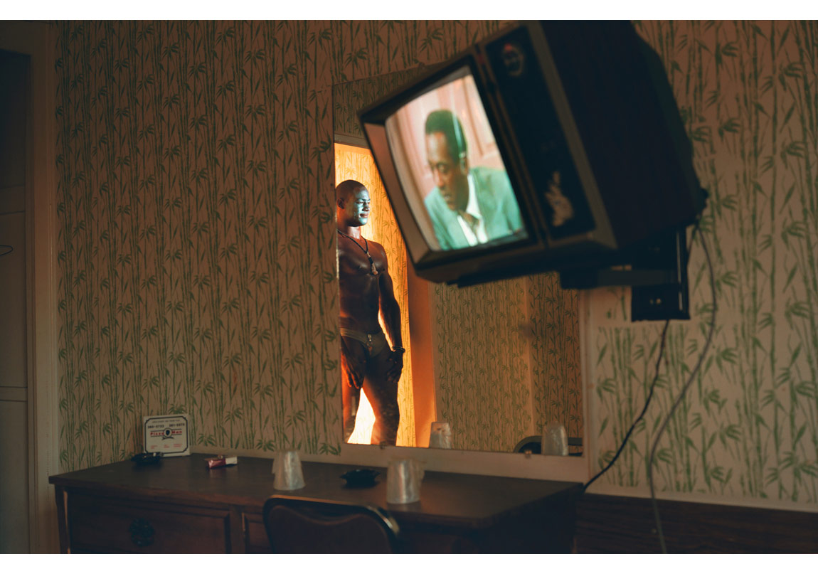 Gerald Hughes (nam-ı diğer Vahşi Fantazi), 25 yaşlarında, Güney Kaliforniya, $50, 1990-92 © Philip-Lorca diCorcia. Sanatçı, David Zwirner New York/London ve Sprüth Magers Berlin London izniyle