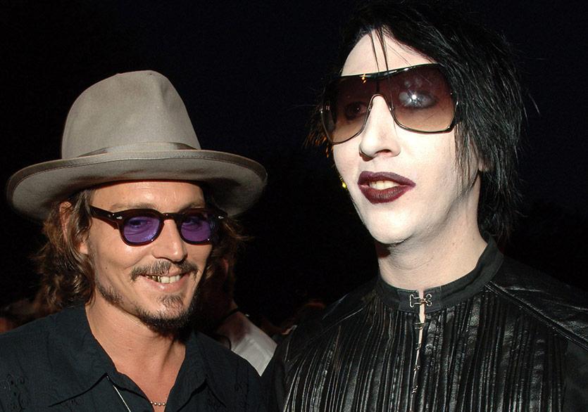 Johnny Depp ve Marilyn Manson İkinci Kez Bir Arada