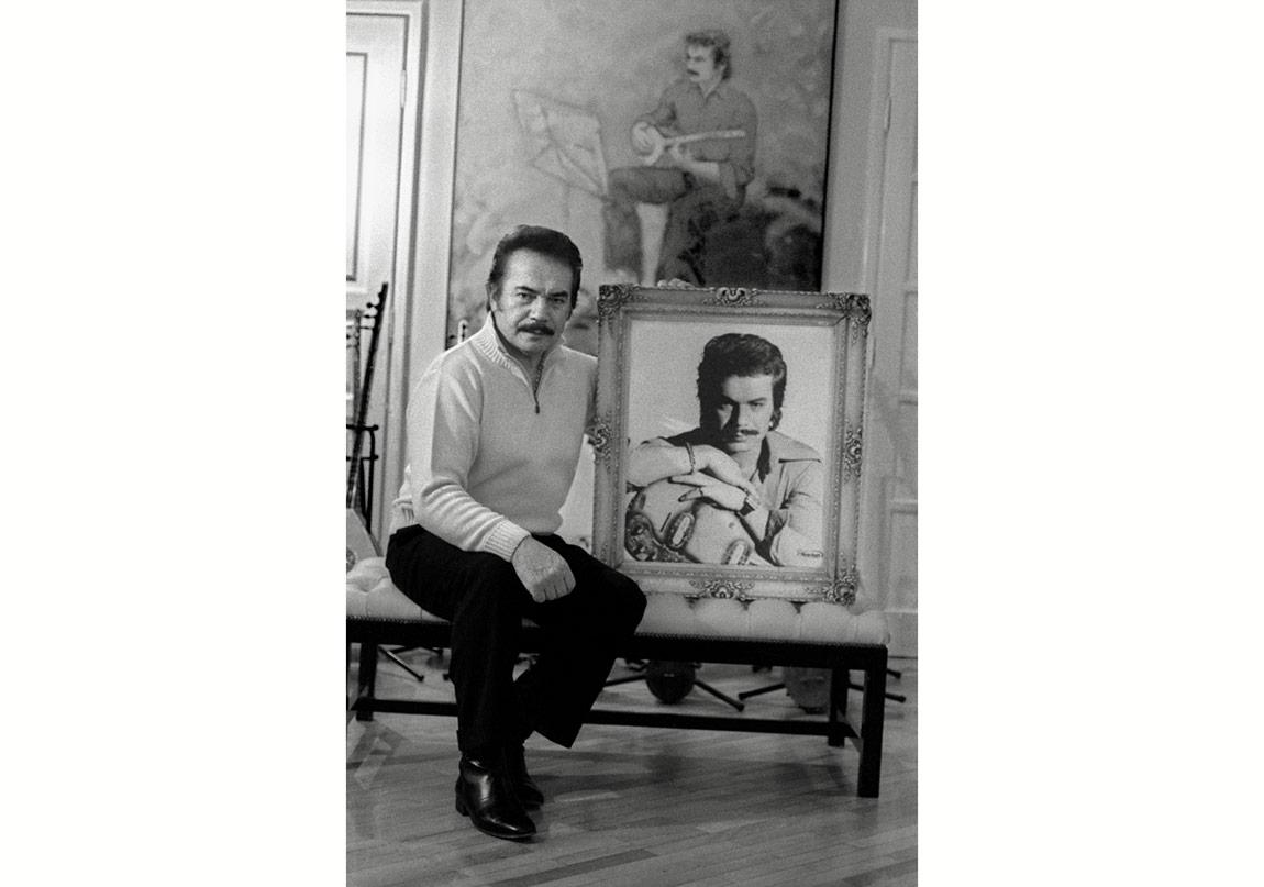 Haluk Çobanoğlu, Orhan Gencebay portresi, 'Arabesk' serisinden, İstanbul, 2005