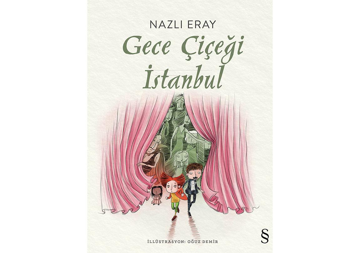 """Nazlı Eray'dan """"Gece Çiçeği İstanbul"""""""