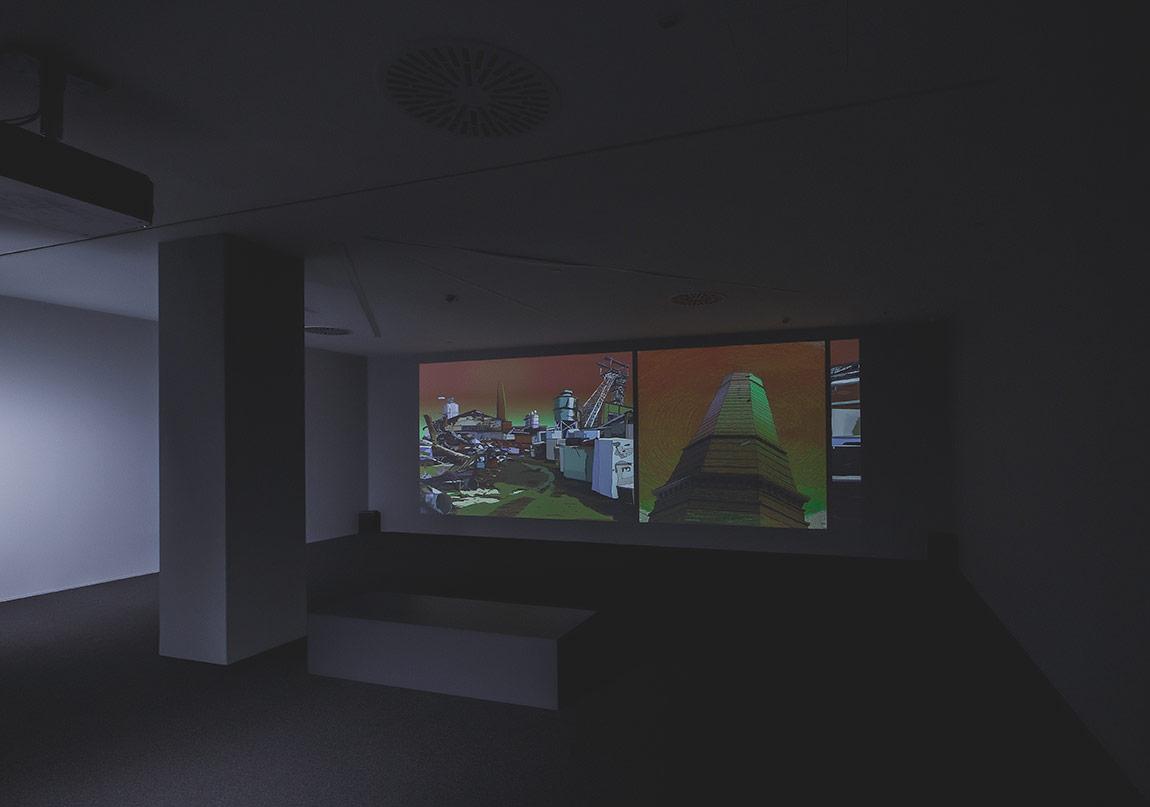 Chris Doyle, Kayıp Nesil, 2011, Sesli tek kanallı video projeksiyon, 6í28î, Ed. 4/5 + 2 AP, Müzik ve ses tasarımı: Joe Arcidiacono