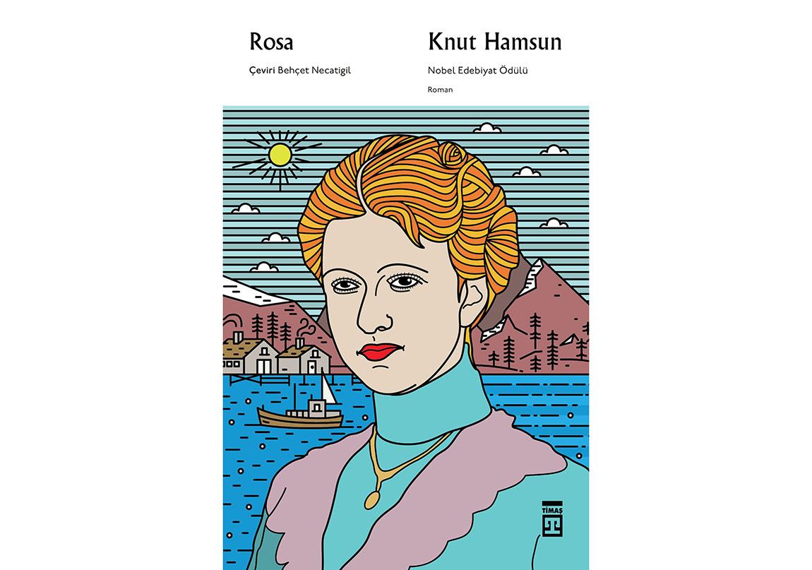 """Knut Hamsun Kitaplığı """"Rosa"""" ile Büyüyor"""