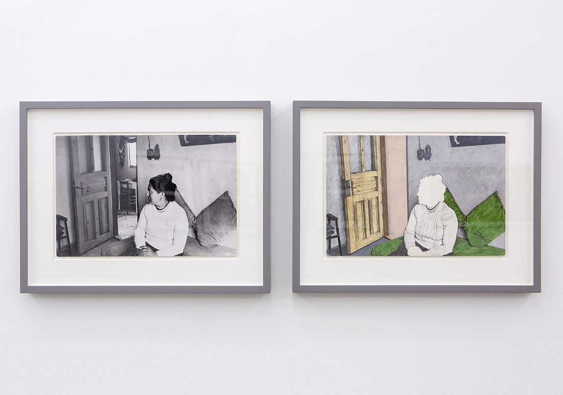 Rahime, Türkiye'den Kürt Bir Kadın,1979Fotoğraflar, video ve çizimlerle yerleştirme11 adet çerçeveli iş, bezler, kaide, TV monitörüDeğişken boyutlar