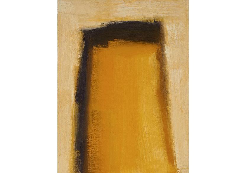 Jochen Proehl - Excavation 2016 oil on canvas 40x30cm