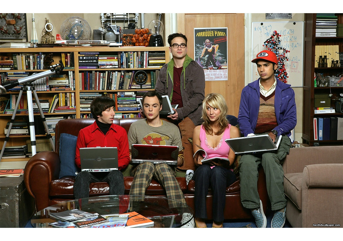 The Big Bang Theory'nin nerdler'i Marslı'yı çok sever