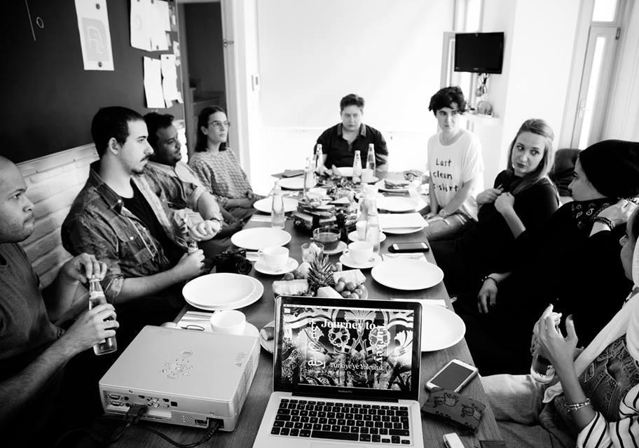 FİLBOOKS'taki girizgâh toplantısıFotoğraf: Júlia Soler