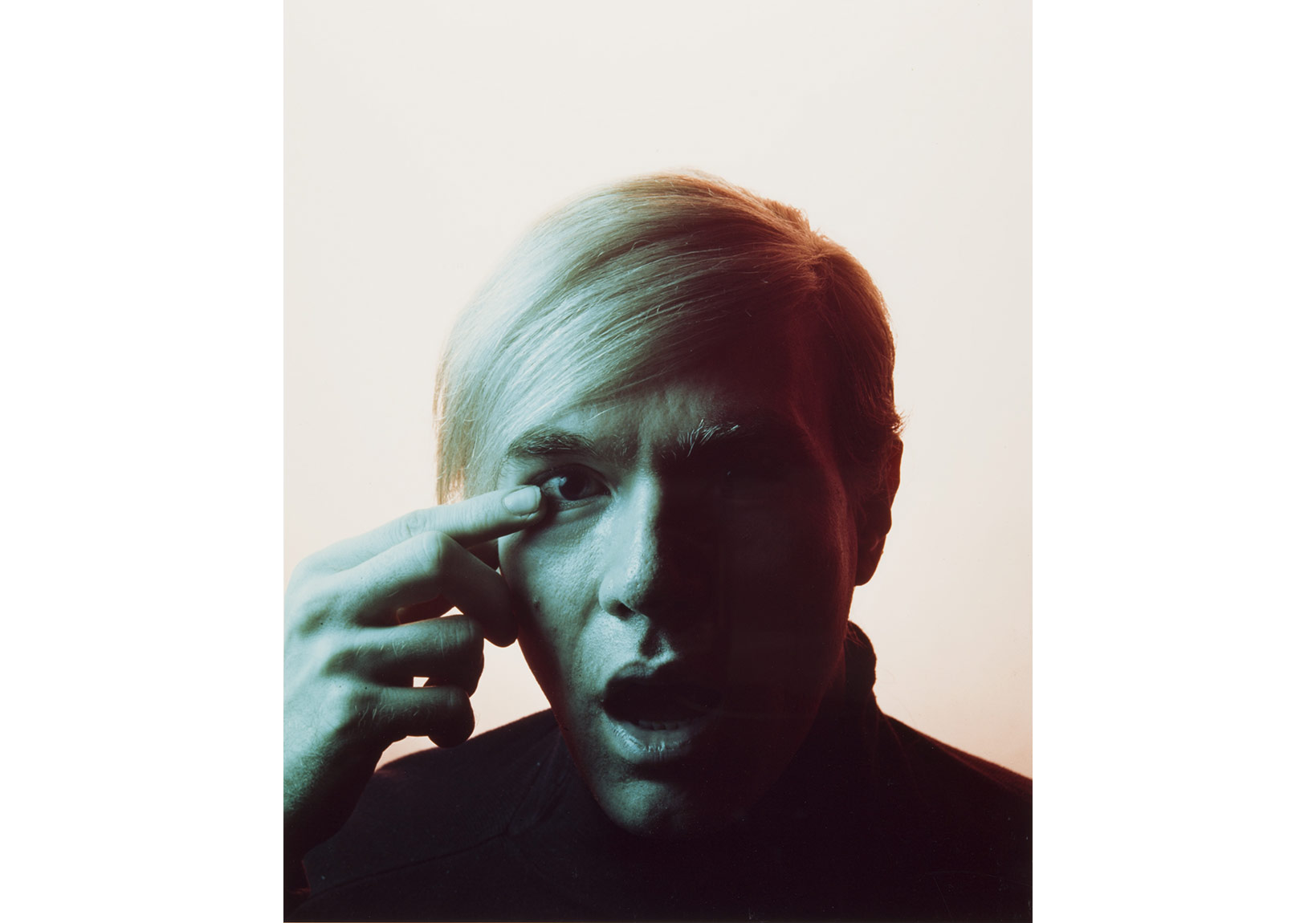Philippe Halsman, 'Andy Warhol', 1968, Archives Philippe Halsman © 2015 Philippe Halsman Archive/Magnum Photos
