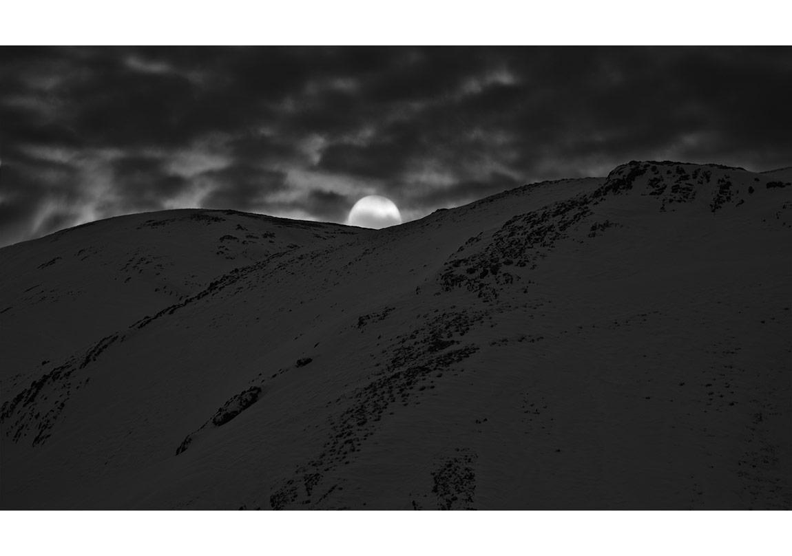 İsimsiz, 'Ayışığı' serisinden © Abbas Kiarostami, CerModern izniyle