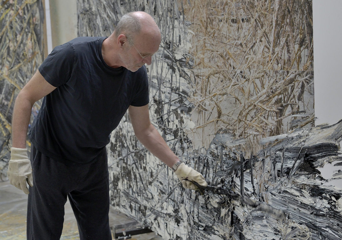 ANSELM KIEFER 2014 @Anselm Kiefer Photo Charles Duprat
