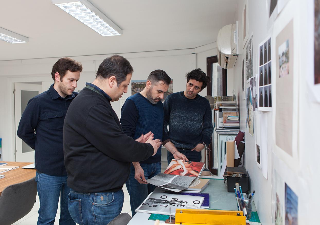 Tuna Uysal, Yusuf Murat Şen, Serdar Darendeliler ve Volkan Kızıltunç (soldan sağa) © Nazlı Erdemirel
