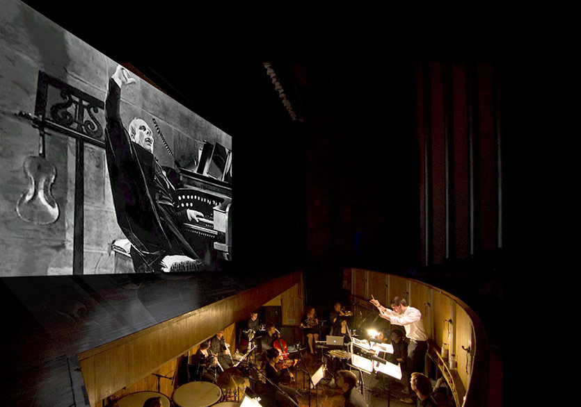 Berklee Silent Film Orchestra Phantom of the Opera ile Türkiye'de