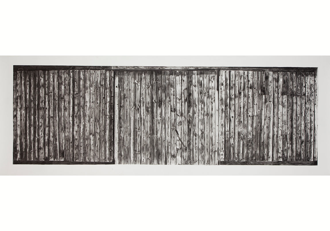 Tunca Subaşıİsimsiz, 2014Asitsiz kağıt üzerine füzen65 x 200 cm