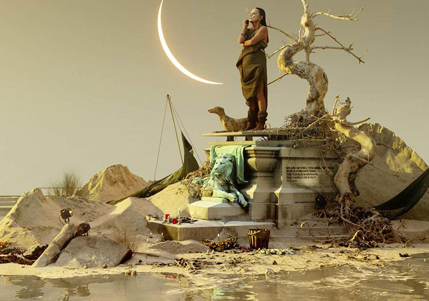 Özneleri ile Birlikte Anıt Mezarlar